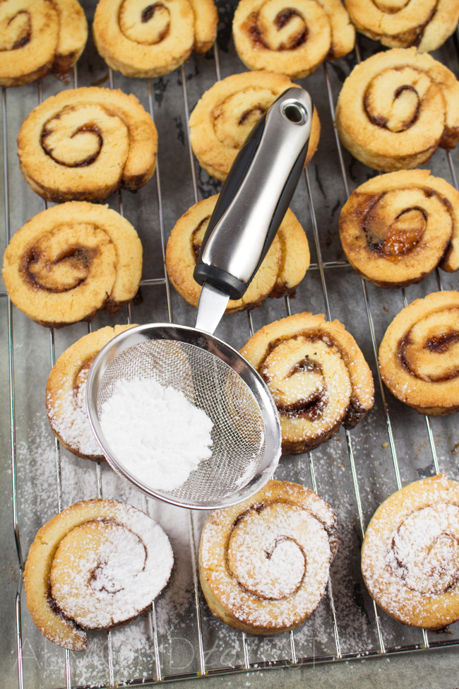 Strawberry Cinnamon Swirls - Super soft, buttery and exploding with strawberry cinnamon flavor!! One of the BEST comfort foods and my favorite!!