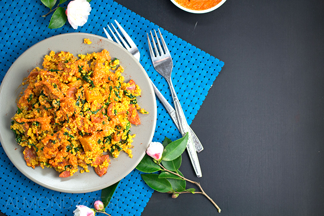 Couscous Salad with Chorizo and Kumara