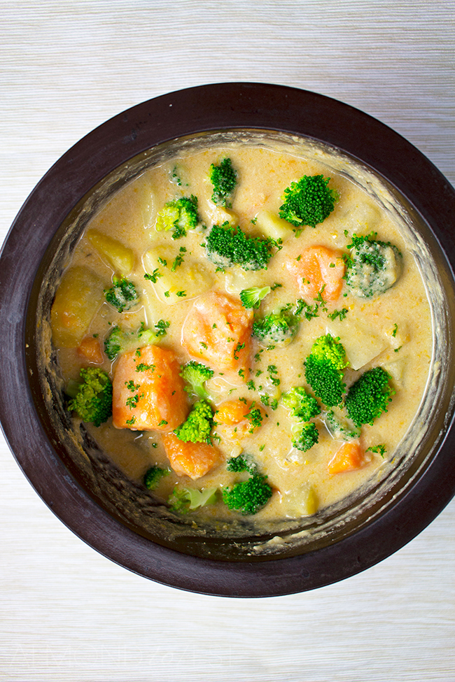 Tahini and Root Vegetable Stew