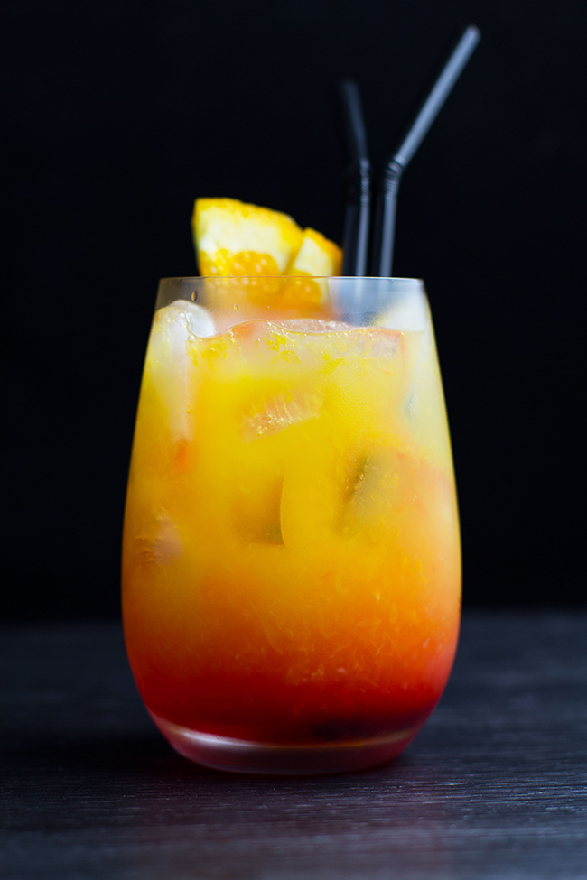 Hawaiian Sunrise Cocktail