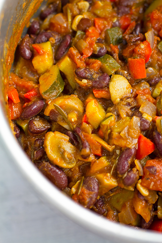 Red Kidney Bean Ratatouille