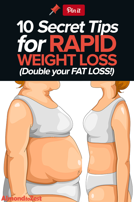 10 Extremely Useful Tips for Rapid Weight Loss #weightloss #fastweightloss