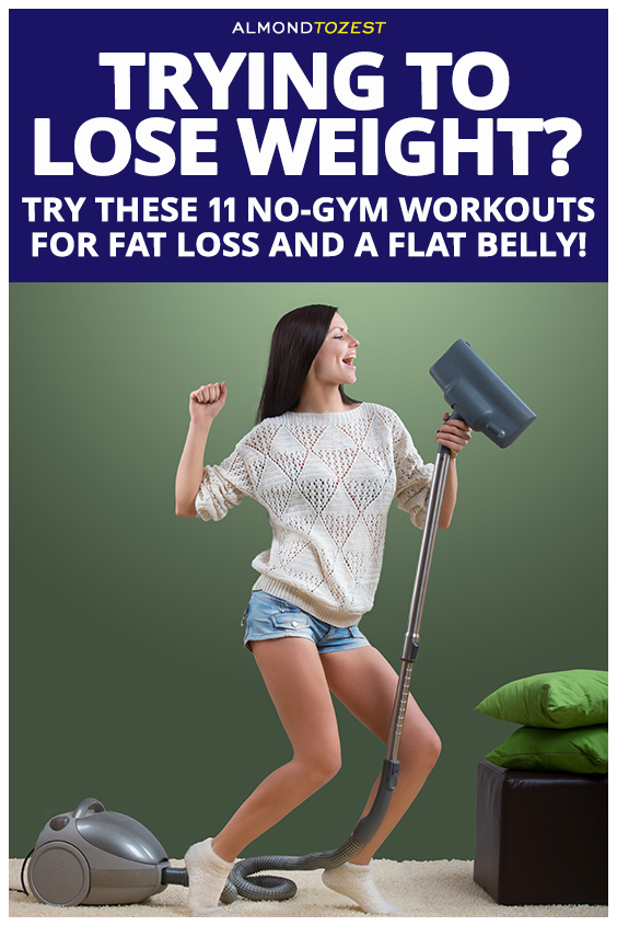 Trying to Lose Weight in The New Year? No more excuses! With a little creativity, you can get a flat belly without ever setting foot in the gym. We thought you may not believe us. So, we got fitness experts and trainers who reveal their best moves, tips, and, tricks, that require little effort but promise big results. #flatbelly #weightloss #workout #exercise #abs