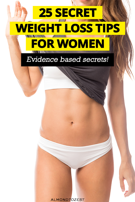 25 Secret Tips For Women's Weight Loss