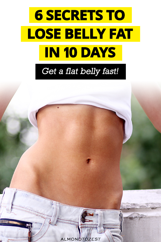 Does losing belly fat in 10 days sound too good to be true? Try out these 6 simple hacks to not only lose belly fat but boost your metabolism and improve your health!