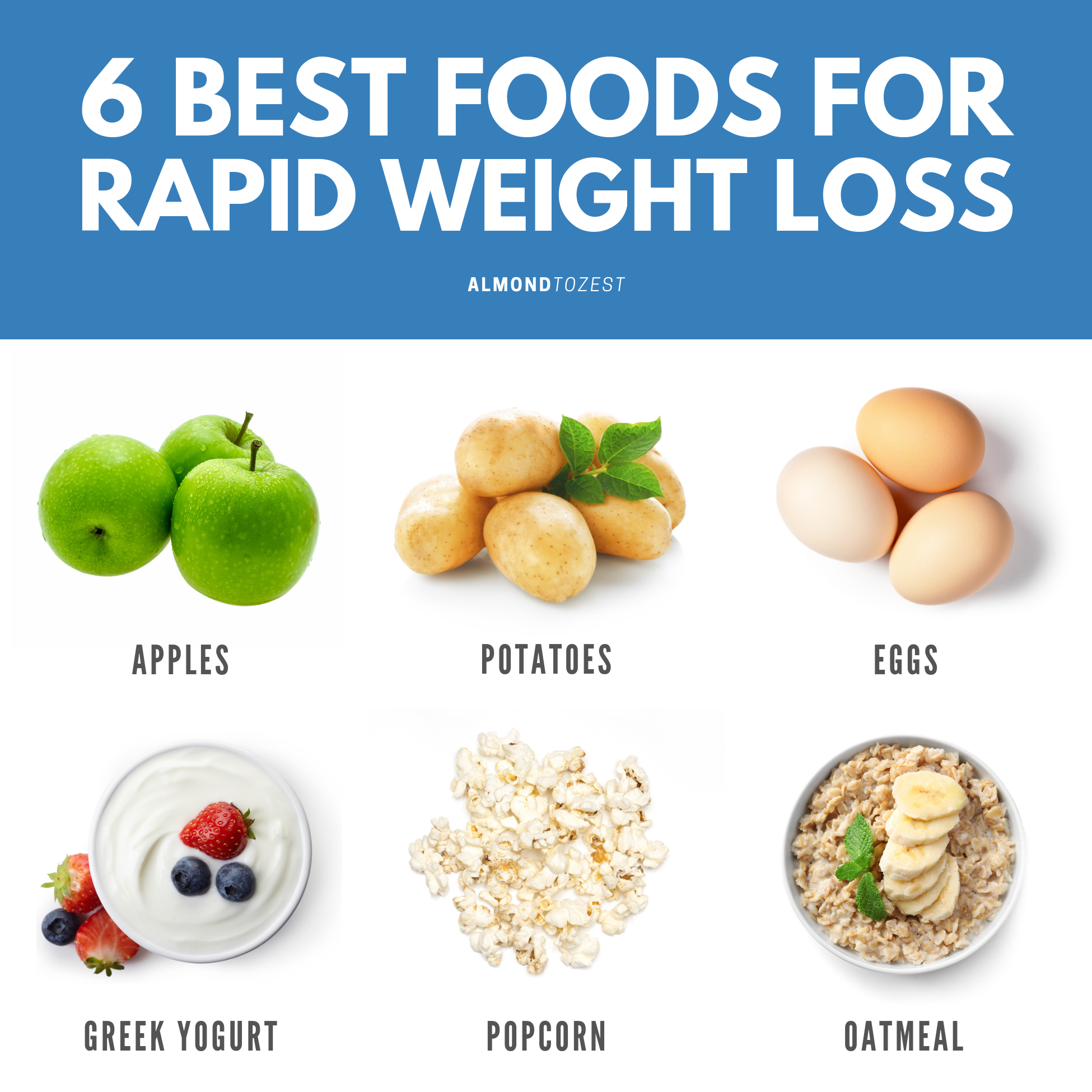 6 Foods You Must Eat For Rapid Weight Loss